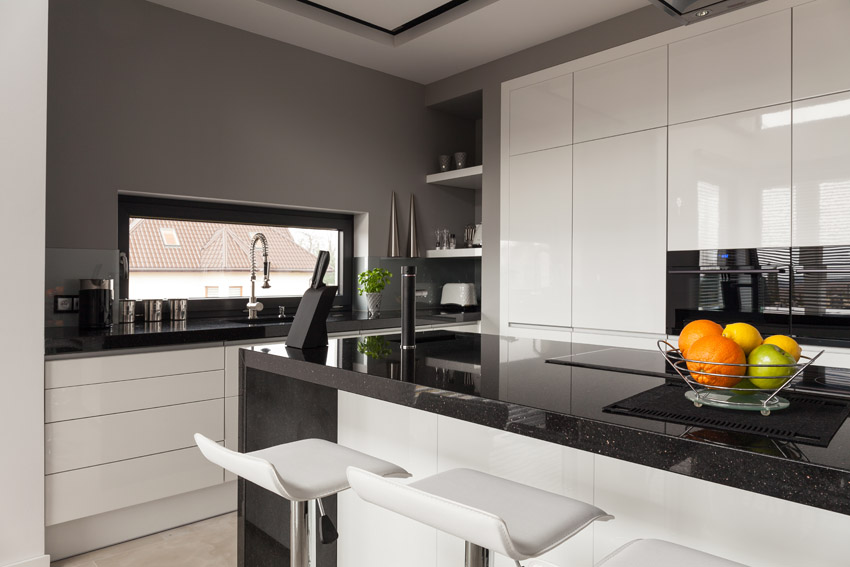 Paint Kitchen Tiles Black